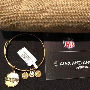 Alex and Ani New England Patriots Bracelet
